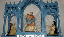 Ferros - Ferros-MG-Altar da Igreja do Rosário-Foto:ROTIZEN LAGE REGGIANI