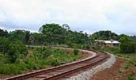 Porto Grande - Estrada de ferro-Foto:Alan.Kardec