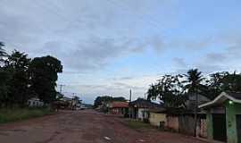 Porto Grande - Porto Grande-AP-Rua da cidade-Foto:deCamargoLima