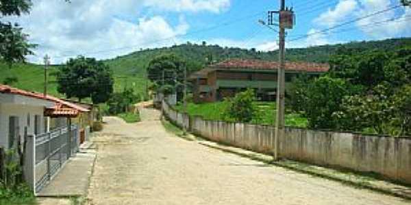 Fidelândia-MG-Rua do Colégio-Foto:Reginaldo Cibrao