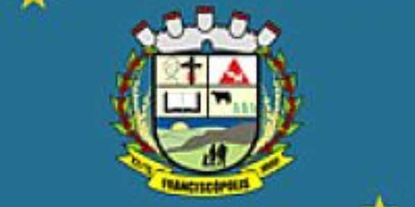 Bandeira de Franciscópolis - MG