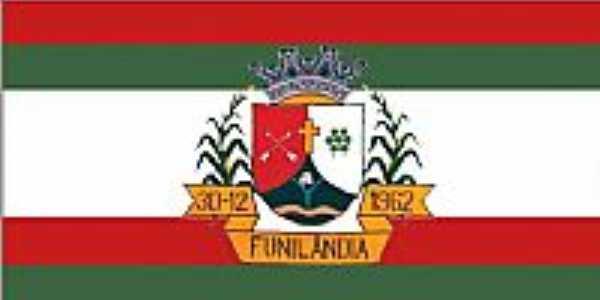 Bandeira de Funilandia-MG