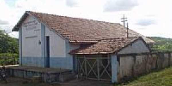 Glaucilândia-MG-Estação Ferroviária em 2005-Foto:Alberto Fernandes de Oliveira