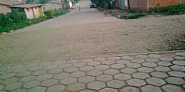 Glaucilândia-MG-Rua do centro-Foto:amoglau.