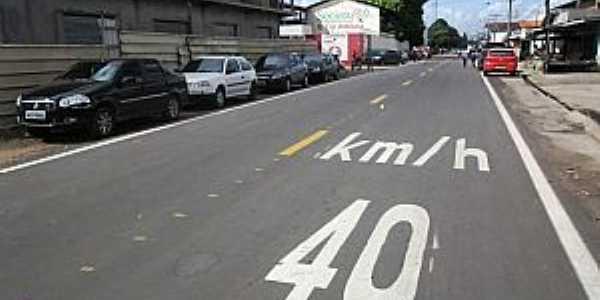Santana-AP-Avenida Central-Foto:Amapaense