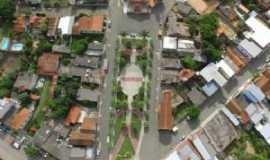 Goianá - Vista aérea de Goianá MG, Por Guerino de Resende Siviero