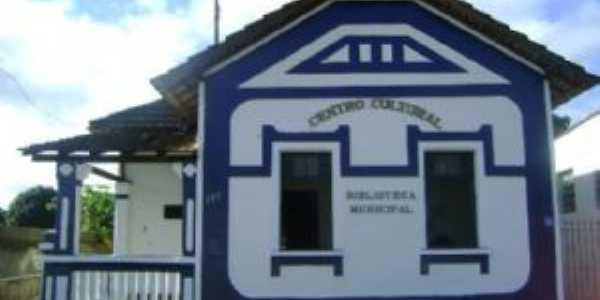 Centro Cultural  e biblioteca municipal de Goianá MG, Por Guerino de Resende Siviero