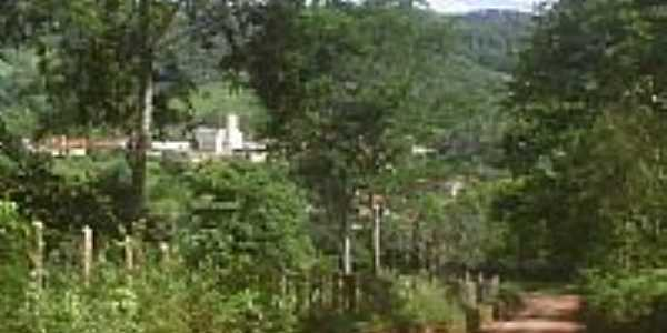 Estrada de terra chegando em Gororós-Foto:Heliomar Cassiano