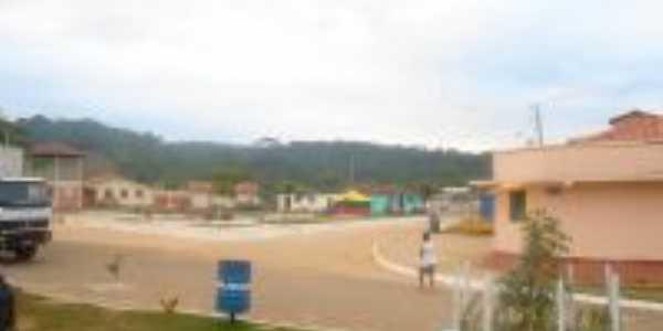 Vista da praça-Foto:Ananda Figueiredo