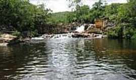 Gouveia - Cachoeira da Capivara em Gouveia-Foto:VANDA APARECIDA MACHADO