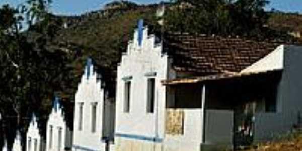 Casas do Povoado de Gouveia-Foto:Leandro Durães
