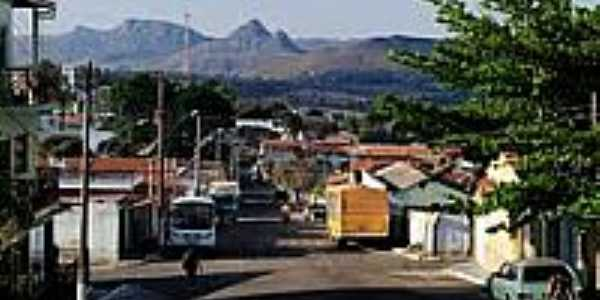 Vista parcial da cidade de Gouveia-Foto:Leandro Durães