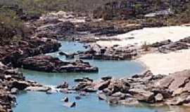 Gr�o Mogol - Praias no Rio Itacambiru�u Eduardo Gomes
