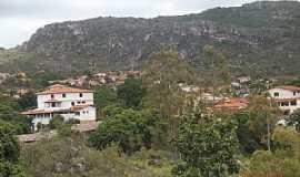 Gr�o Mogol - Gr�o Mogol-MG-Vista parcial da cidade-Foto:Josue Marinho