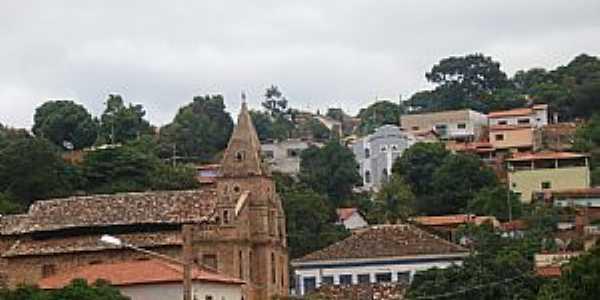 Grão Mogol-MG-Vista do centro-Foto:Josue Marinho
