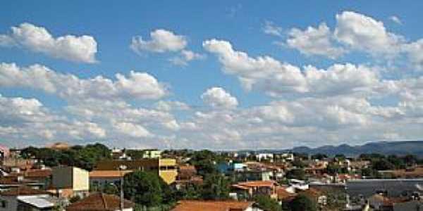 Guapé-MG-Vista parcial da cidade-Foto:guapeturismo.