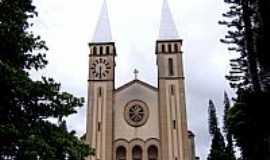 Guaxupé - Guaxupé-MG-Catedral de N.Sra.das Dores-Foto:Vicente A. Queiroz