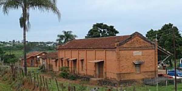Guaxupé-MG-Antiga Estação Ferroviária-Foto:Ruido Menor