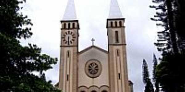 Guaxupé-MG-Catedral de N.Sra.das Dores-Foto:Vicente A. Queiroz