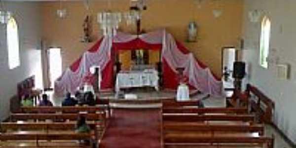 Hermilo Alves-MG-Interior da Igreja de São Sebastião-Foto:Raymundo P Netto
