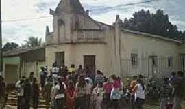 Baixa da Onça - Festa de Corpus Cristi na Paróquia de Baixa da Onça-AL-Foto:baixadaoncaemfoco.