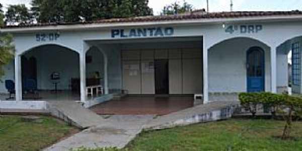 Baixa da Onça-AL-Delegacia de Polícia-Foto:www.alagoastempo.com.br