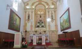 Ibertioga - ALTAR DA MATRIZ DE SANTO ANTÔNIO DE IBERTIOGA MG ARQUIDIOCESE DE MARIANA, Por maestro alencar kacai