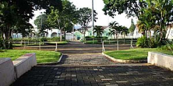 Ibiá-MG-Praça da Matriz-Foto:Geano Rocha