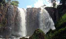 Ibiraci - Ibiraci-MG-Cachoeira da antiga UHI-Foto:EUS