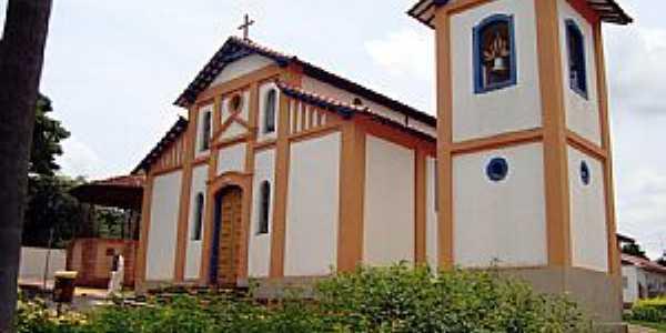 Ibiraci-MG-Igreja do Rosário-Foto:EUS