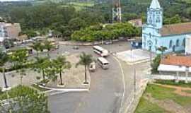 Igarapé - Igreja Matriz vista do alto em Igarapé-MG-Foto:igarapemg.