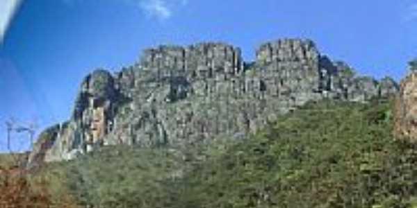 Vista da Pedra Grande em Igarapé-MG-Foto:igarapemg.