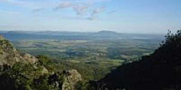 Vista de cima da Pedra Grande em Igarapé-MG-Foto:igarapemg.