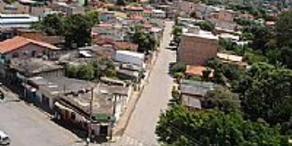 Vista do centro de Igarapé-MG-Foto:igarapemg.