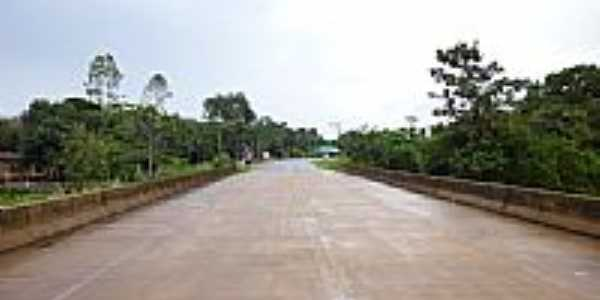 Ponte sobre o Rio Tartarugalzinho-Foto:Alan.Kardec