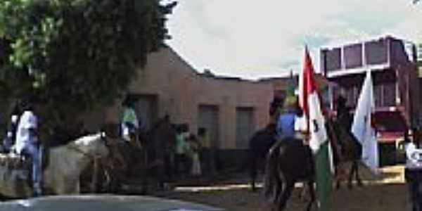 Cavalgada saindo de Indepedência-Foto:wanderson cavalcanti