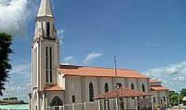 Indianópolis - Igreja  Matriz de Santa Rita por Calixto R Pires