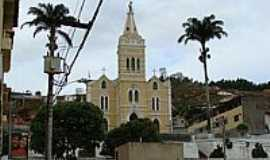 Inhapim - Catedral,cartão postal de Inhapim-Foto:alberthالله هو قوة