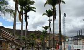 Inhapim - Praça das Palmeiras Imperiais em Inhapim-Foto:alberthالله هو قوة