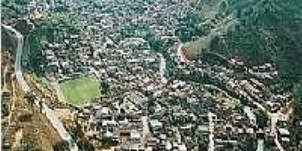Vista aérea de Inhapim-Foto:Gisele Inacio Pereira