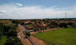 Ipiaçu - Vista aérea da entrada da cidade !, Por PAULO HERÕNCIO DA SILVA
