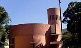 Itabira - Catedral de N.S.do Ros�rio-Foto:Vicente A. Queiroz