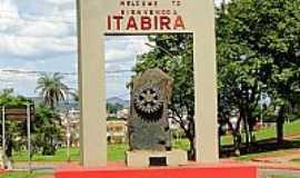 Itabira - Entrada da cidade de Itabira-MG-Foto:Roberta Soriano