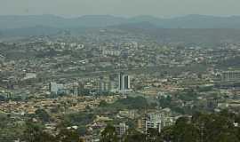 Itabira - Itabira-MG-Vista da cidade-Foto:renato weil