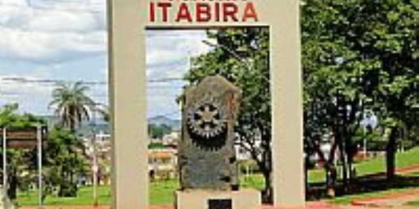 Entrada da cidade de Itabira-MG-Foto:Roberta Soriano