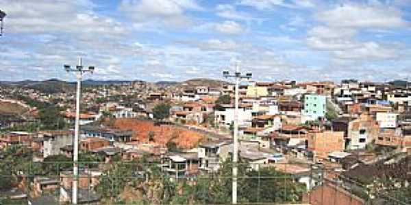 Itabira-MG-Vista parcial da cidade-Foto:G Gomide