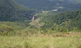 Itabirito - Vista do Viaduto Ferrovi�rio-Foto:Stene Nilton