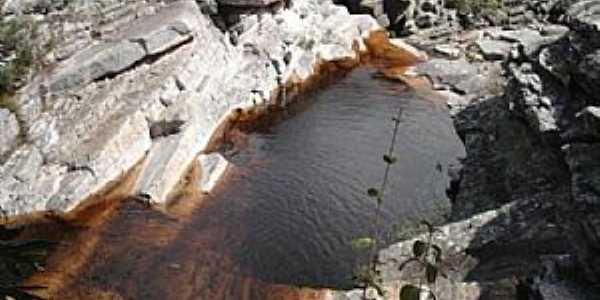 Itacambira-MG-Cachoeira do Curiango-Foto:Vinícius Queiroga