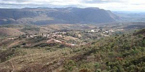 Itacambira-MG-Vista da cidade e região-Foto:Vinícius Queiroga