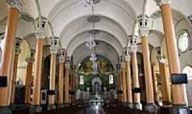 Itajubá - Interior da Igreja Matriz de N.Sra.da Soledade em Itajubá-Foto:Beatriz Barreto Tane…